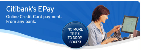 Card payment online gateway citibank credit